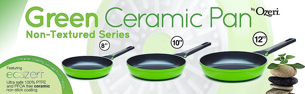 frying pan; skillet; nonstick; non-stick; green, fry pan; griddle pan; crepe pan; omelet pan